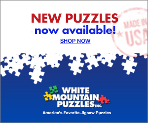 White Mountain Puzzles 300 x 250